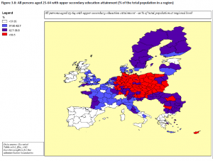 'Mind the Gap - education inequality across EU regions' report pg. 82.
