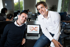 Founders of Openclassrooms: Mathieu Nebra and Pierre Dubuc