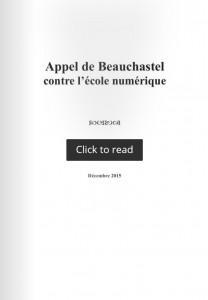 appel de Beauchastel